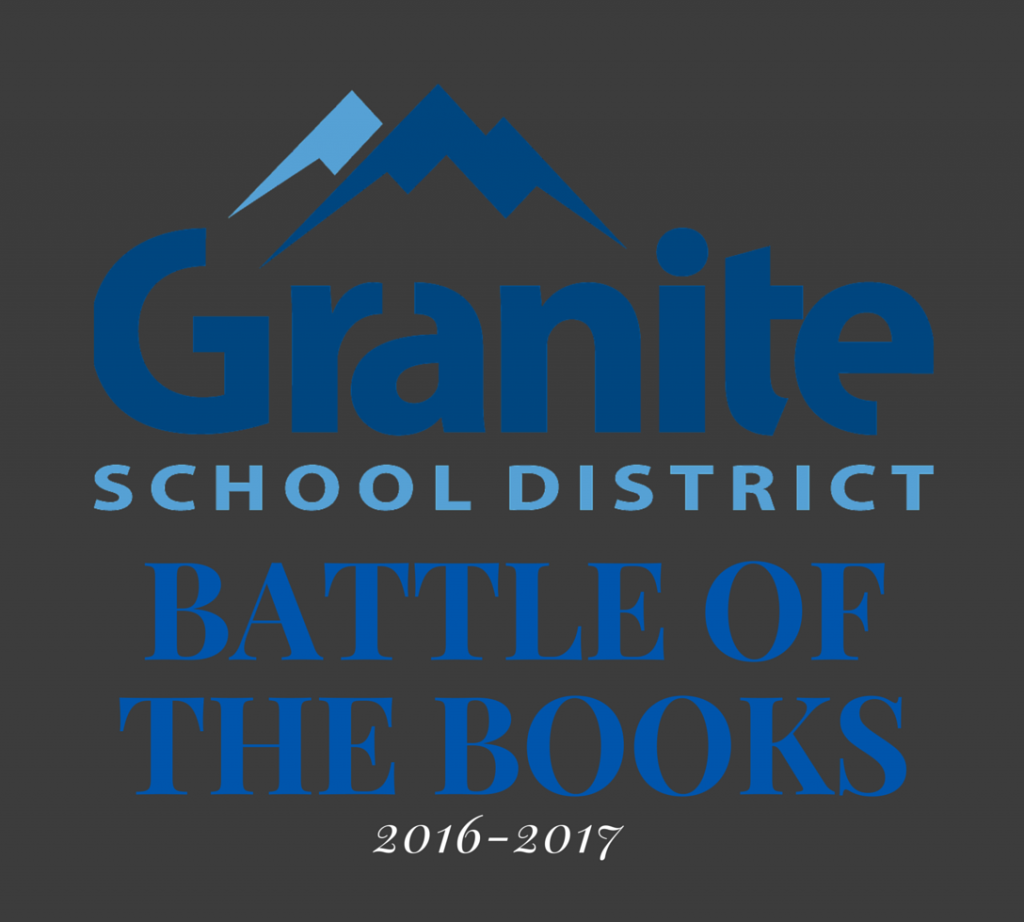 2016-17 Granite Battle of the Books Logo