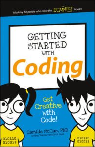 Book Cover - Getting Started with Coding - Get Creative with Code