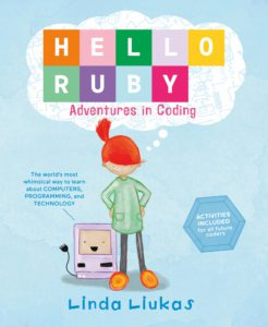 Book Cover - Hello Ruby - Adventures in Coding