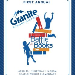 Battle of the Books Competition Poster
