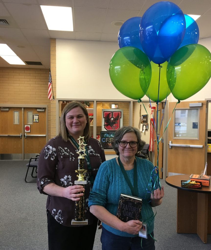 Matheson Jr. High - OverDrive Most Improved February 2018