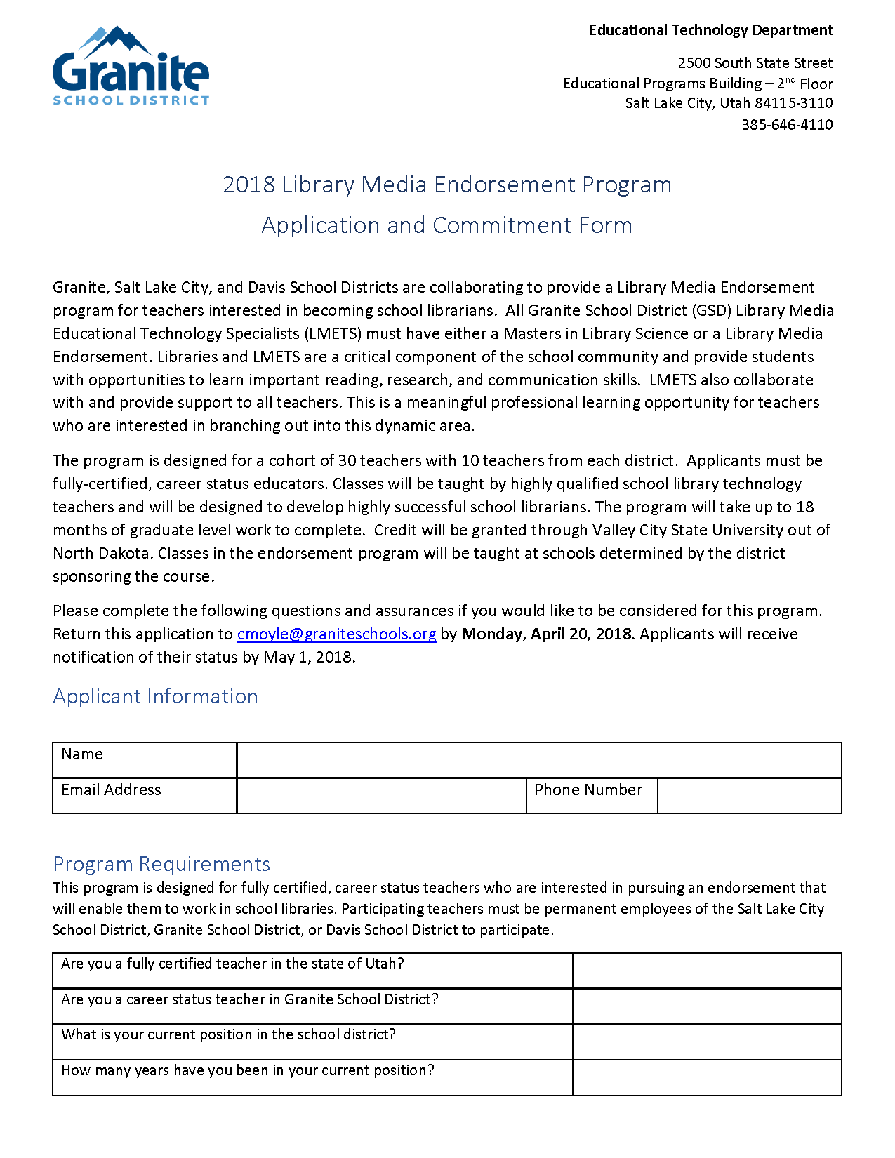 2018 Library Endorsement Application - Fillable_Page_1