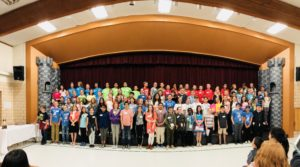 Battle of the Books 2018 - All Participants Panoramic Photo - Nikki Gregerson