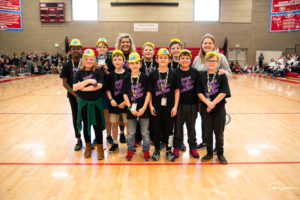 1st Place Champion's Award Trophy - HypeBuilders (Arcadia Elementary)