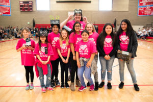1st Place Core Values Trophy - Sassy Space Sistahs (South Kearns Elementary)