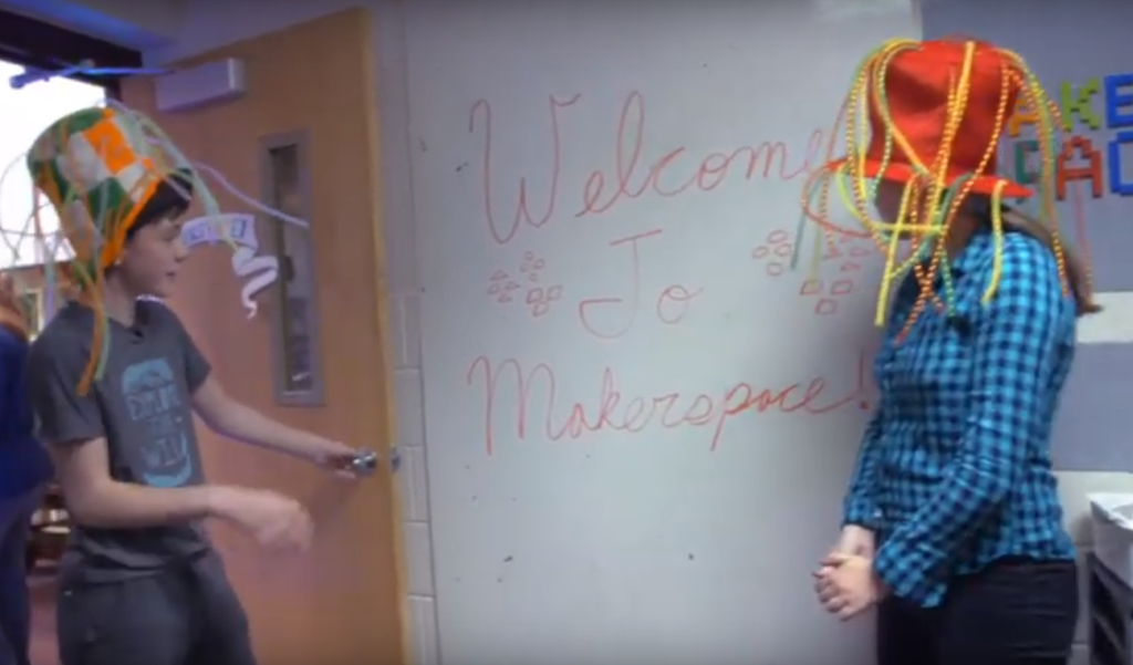 Student-Led Makerspace at JeffersonJr – UEN PDTV video screenshot