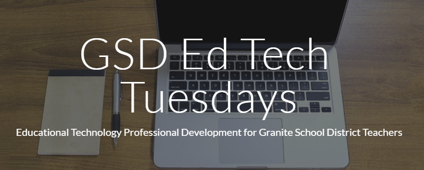 GSDEdTech Tuesdays – Header