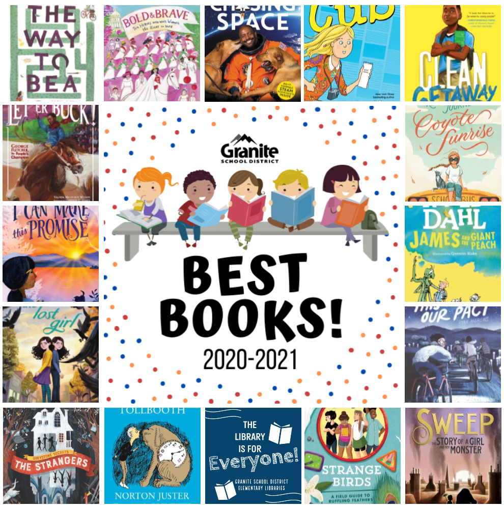 5th-6th Best Books Reading List Covers Collage