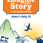 Imagine Your Story - Salt Lake County Library 2020 Summer Reading Challenge - Poster Image