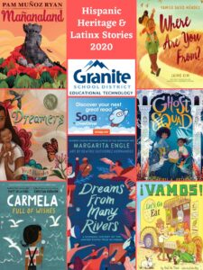 Poster: Hispanic Heritage and Latinx Stories in Sora – 2020 – Elementary