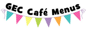 GEC Cafe Menu Logo