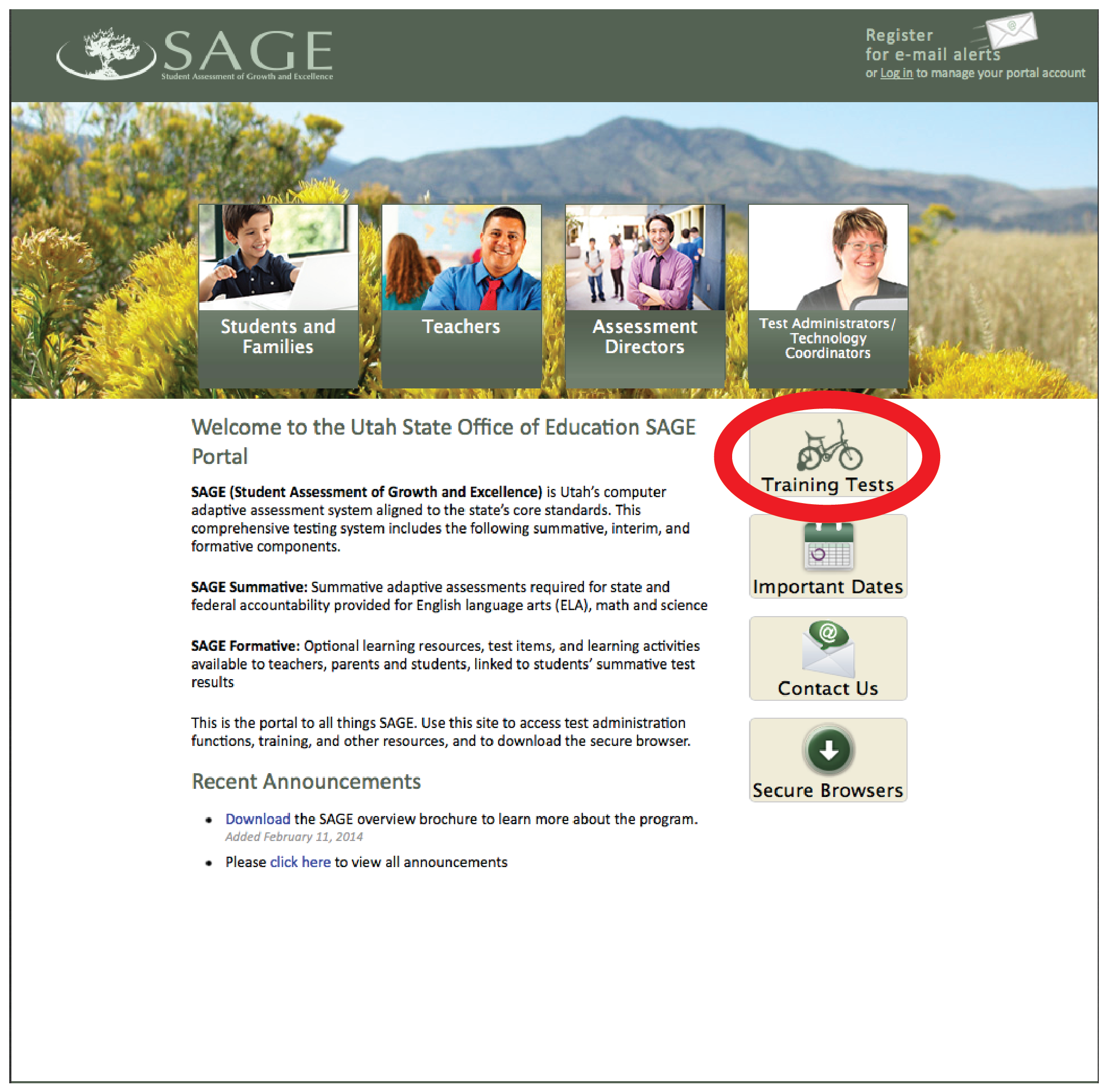 SAGE: Utah's new end-of-year test