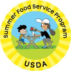 Summer Food Service Program logo.