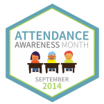 Logo for Attendance Awareness Month 2014