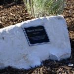 Photo of Winder plaque at Granger High
