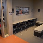Photo of classroom workspaces at Stansbury Elementary