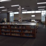 Photo of Stansbury Elementary library