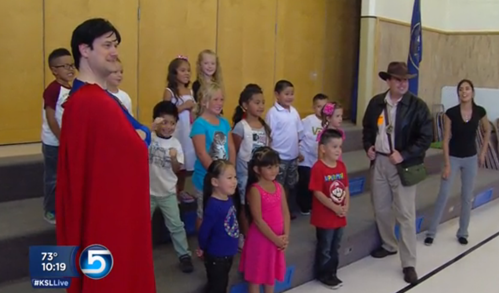 Oquirrh Hills Elementary earns surprise tickets to Comic Con after