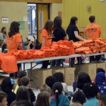 Photo of Discover Card volunteers at Jackling Elementary
