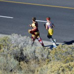 Photo of Churchill Jr High students running