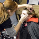 Photo of Mill Creek student receiving face paint