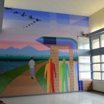Photo of mural in Decker Lake facility