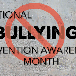 Bullying Awareness Month logo