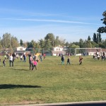 Photo of Diamond Ridge students playing during recess