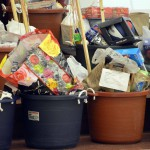 Photo of donated items at Cottonwood Elementary