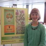 Photo of Spring LAne student with winning bookmark design