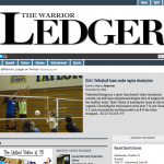Screenshot of Warrior Ledger website