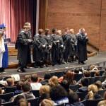 Photo of Taylorsville Network principals in graduation regalia