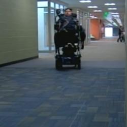 Photo of Hartvigsen student in hallway