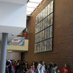 Photo of Granger High mural
