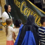 Photo of Kearns High SBO with kindergarten students