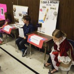 Photo of Bennion Elementary students dressed as historical characters