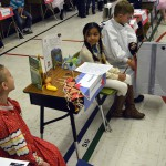 Photo of Bennion Elementary students dressed as historical figures