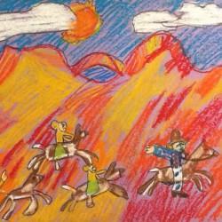 Photo of student artwork for Utah Symphony