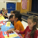 Photo of students doing reading activities at Farnsworth Elementary