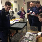 Photo of firefighters visiting Fremont Elementary classroom