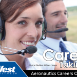 Advertisement for SkyWest Airlines Aeronautics Careers Open House