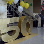 Photo of West Lake 50th Anniversary decorations