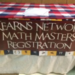 Photo of Math Masters table cloth