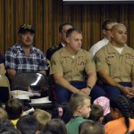 Photo of veterans at Copper Hills Elementary