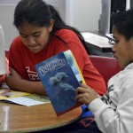 Photo of Jackling Elementary students reading books