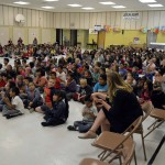 Photo of Jackling Elementary students during assembly