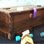 Photo of wooden chest made by GTI student