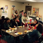 Photo of West Lake parent volunteers at party