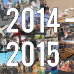 Photo collage with '2014-2015' across front