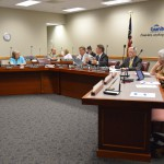 Photo of board of education